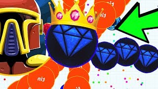 The FANIX.IO DOUBLE SPLIT KING is BACK! DESTROYING Teams, NOOBS & PROS in the new agar.io