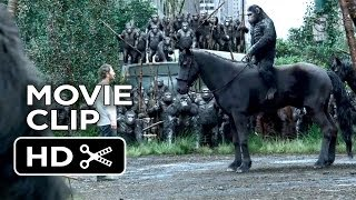 Dawn Of The Planet Of The Apes Movie CLIP - Apes Don