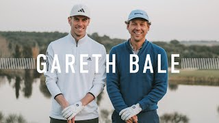 Real Madrid's Gareth Bale and Erik Anders Lang Faceoff at Golf Santander