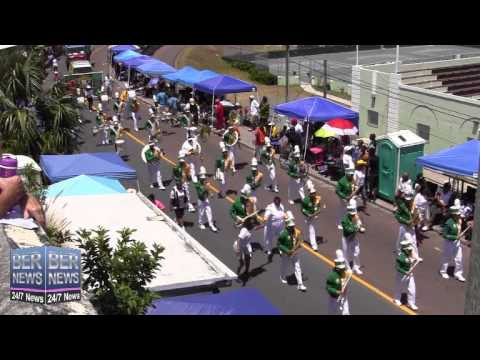 Berkeley Institute In The Bermuda Day Parade, May 26 2014