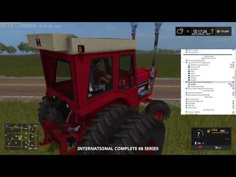 Pleasant Valley and Grand Prairie Farms Farming Simulator 17 RDAllen Live 09 30 2017