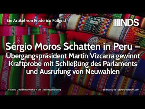 Sérgio Moros Schatten in Peru – Übergangspräsident Martín Vizcarra gewinnt Kraftprobe   F. Füllgraf