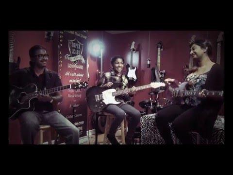 Pookal Pookum - Live Guitar Instrumental By Nemia & Archana
