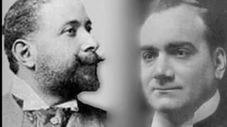 Enrico Caruso and Mario Ancona -Au fond du temple saint (sung in Italian)