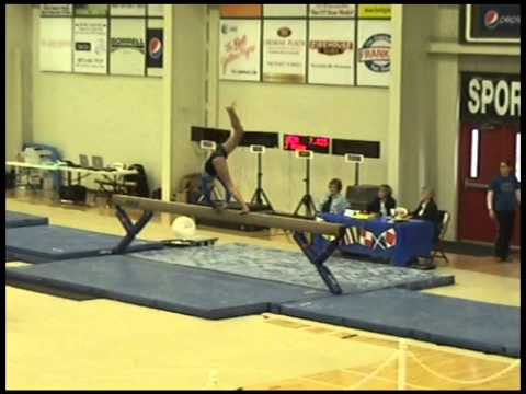 Bay City Gymnastics:  Shipping Up To Boston- Floor Routine!