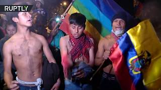 Ecuadorians celebrate after govt agrees to repeal austerity law