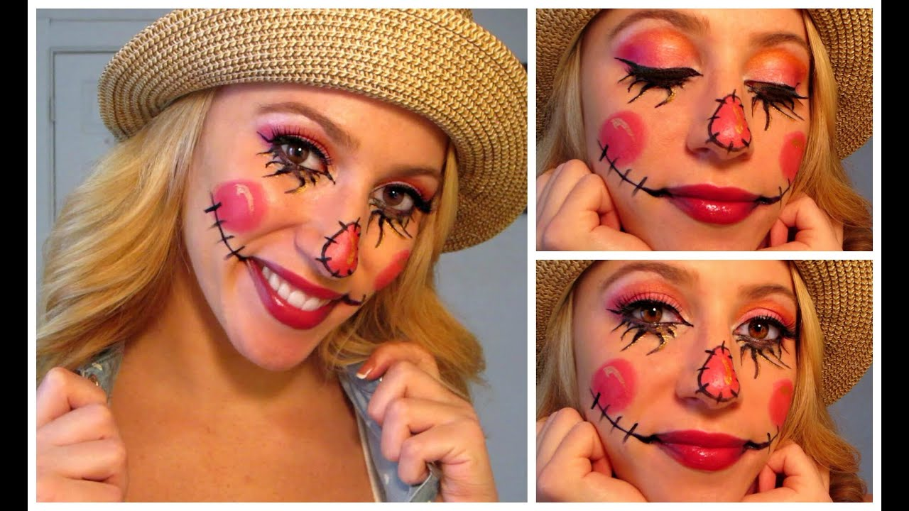Sweet scarecrow halloween make up tutorial youtube sweet scarecrow halloween make up tutorial solutioingenieria Choice Image