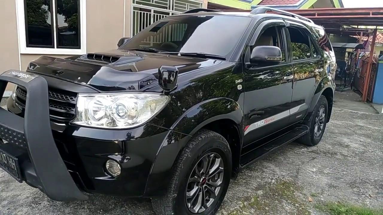 toyota fortuner 2009 facelift - diesel automatic review - mobil 250 jutaan