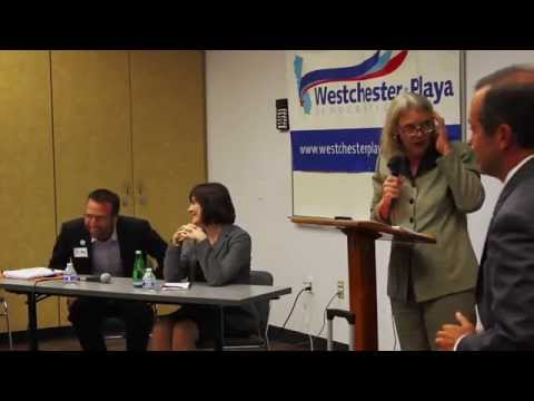 Westchester Playa Democratic Club Senate District 26 Debate with Ben Allen and Sanda Fluke