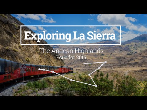 Tren Crucero and the Devil's Nose - Exploring La Sierra in Ecuador (Vlog 03) - 동영상
