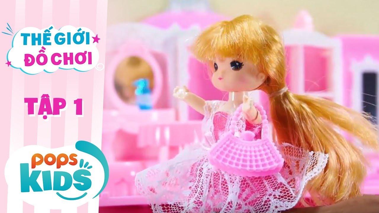 Thế Giới Đồ Chơi - Tập 1 - Đầm Công Chúa Xinh Xắn   Baby Dolls & Toys Review
