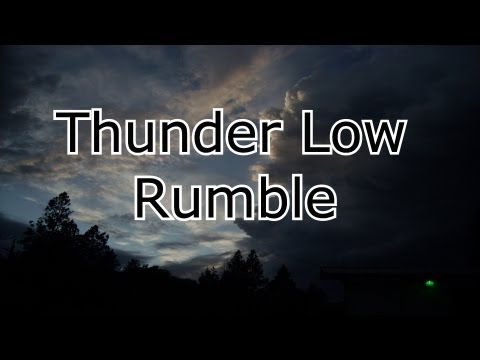Thunder Low Rumble HD