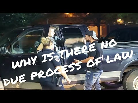 GUY GOES OFF ON COPS FOR DENYING DUE PROCESS OF LAW LAFAYETTE, INDIANA