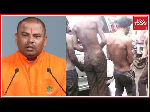 Una Atrocity: Bjp Mla Raja Singh Courts Controversy