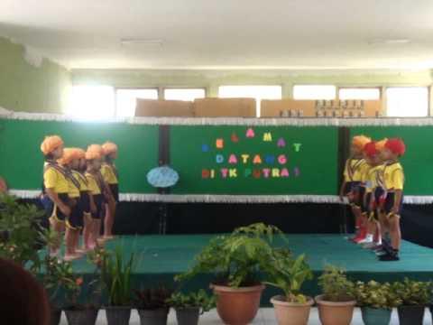 lagu anak Indonesia - cara menyebrang jalan supaya aman