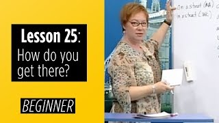 Video Beginner Levels - Lesson 25: How do you get there? download MP3, 3GP, MP4, WEBM, AVI, FLV Juli 2018