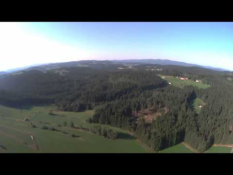 Blade QX 350 V3 Flug bei Langdorf mit CGO 1 unf Gimbal BLH7910