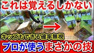 【無双】子供でもできる裏技を日本一楽しめる店で使ったら凄すぎた(クレーンゲーム UFOキャッチャー)