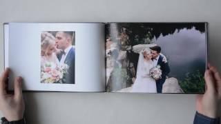Свадебная полиграфическая фотокнига