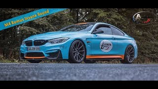 BMW M4 Remus Cat Back insane Sound