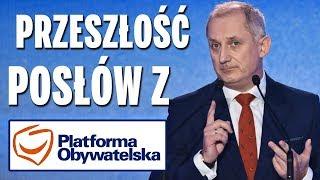 Przeszłość posłów z Platformy Obywatelskiej (część 3).