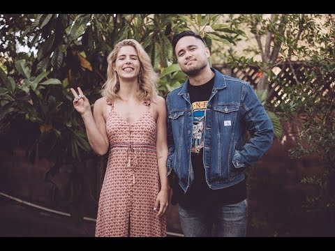 Sunday Morning  Maroon 5 Cover by Travis Atreo and Emily Bett Rickards