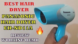 Best Hair Dryer || Panasonic Hair Dryer EH-ND11A - Review [Hindi]