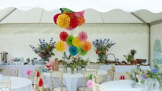 English Summer Garden party at home with Sophie Robinson