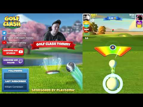 Golf Clash tips, Playthrough, Hole 1-9 - ROOKIE - Fuji Open Tournament!