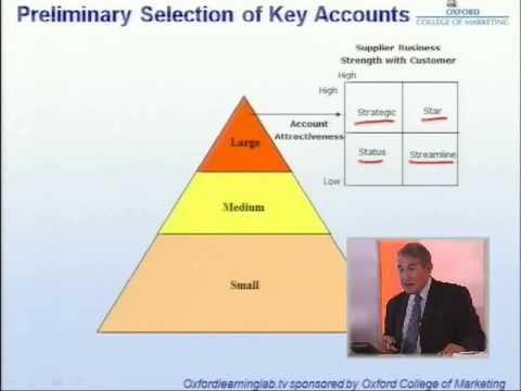 Key Account Management: Categorization