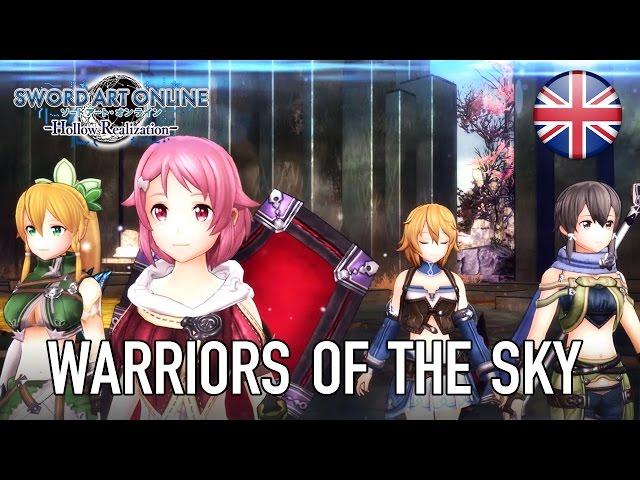 Sword Art Online: Hollow Realization - PS4/PS Vita - Warriors of the Sky (English Trailer)