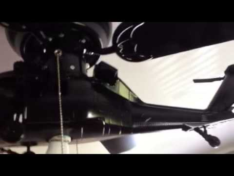 Helicopter ceiling fan - YouTube