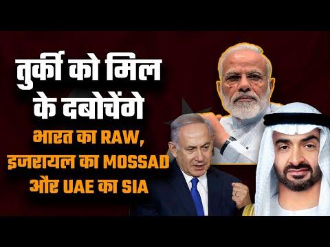 India, Israel and UAE unleash their intelligence agencies on Turkey