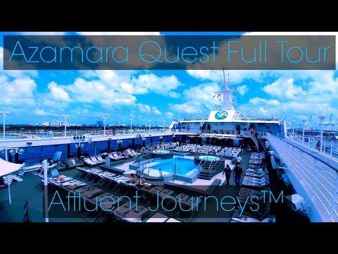 Azamara Quest Full Tour