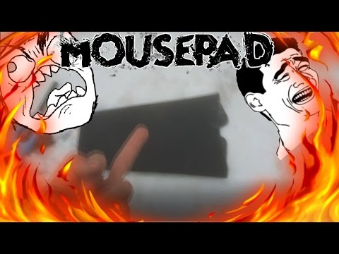 When your mousepad is too small...