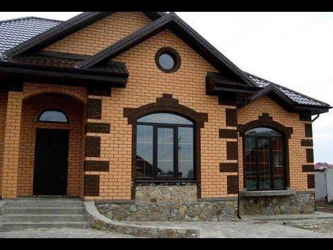 Фасад из кирпича – надежность и красота