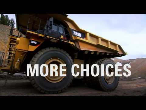 Introducing the 789D Cat Mining Truck