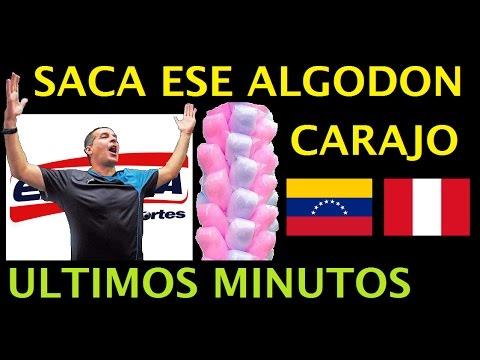 Gonzalo Nuñez y los Ultimos Minutos Venezuela 2 Perú 2 / Exitosa Deportes / El Tanque Arias
