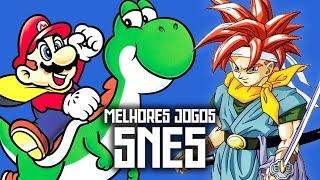 Melhores Jogos de SNES! #BRKsEDU