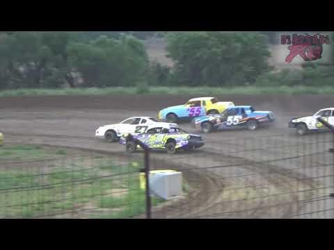 Salina Speedway - 7-27-18 - Coors Light Stock Car Heats