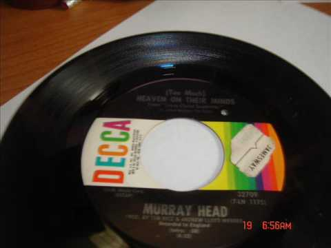 Murray HeadHeaven On Their MindsSingle Version45 RPM