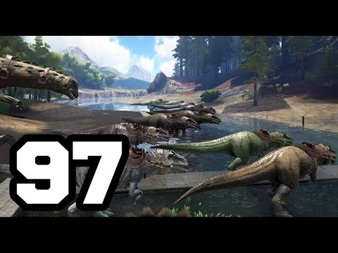 EJERCITO DE GIGANOTOSAURUS | ARK: Survival Evolved #97 | Temporada 4
