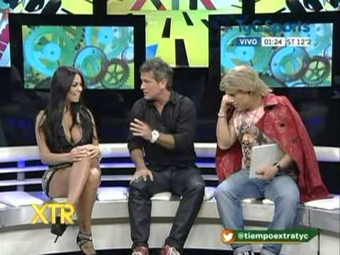 La modelo paraguaya Jennifer Ruiz Diaz en Tiempo Extra thumbnail