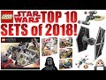 TOP 10 LEGO Star Wars 2018 Sets!