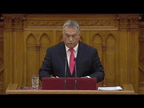 Orbán Viktor napirend előtti felszólalása - Országgyűlés 2017.09.18.