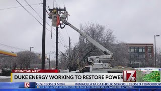 Duke Energy reports 200k outages in NC late Mon. afternoon