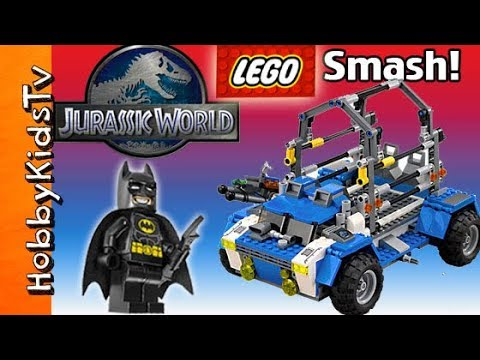 JURASSIC WORLD Rex Lego Kit Build