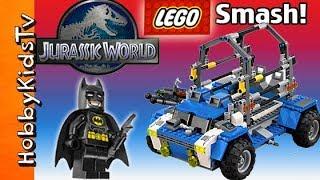 JURASSIC WORLD Rex Lego Kit Build