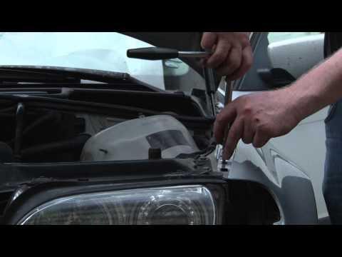 BMW 3 series E46 – Replacing front fender – DIY