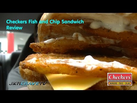 Checkers Fish And Chip Sandwich Review # 101